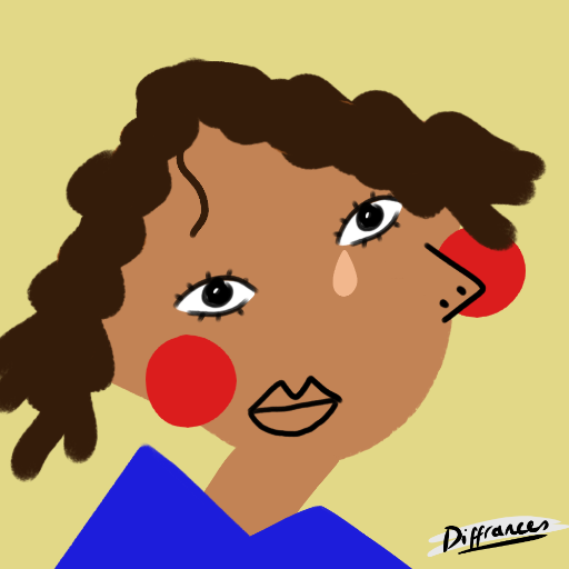 Picasso style face maker