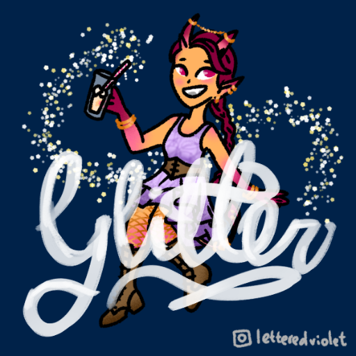 Glitter the Tiefling