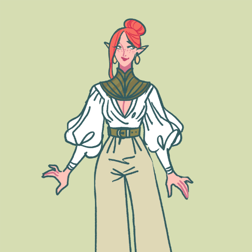 Rhëa's DnD outfit