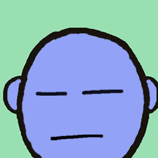 Purple/Blue Guy