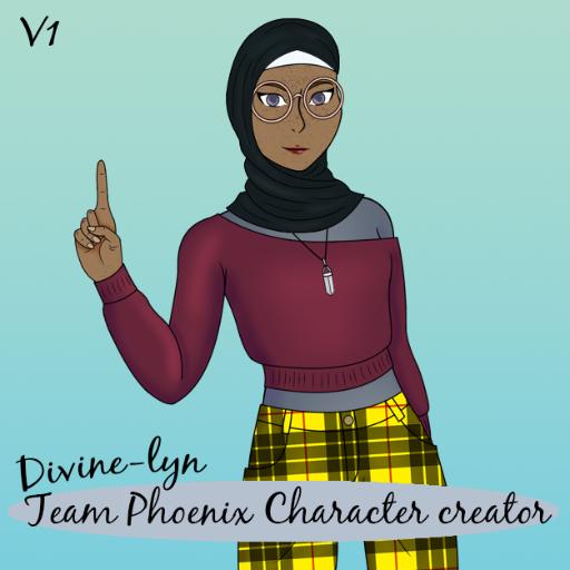 Team Phoenix Character Creator