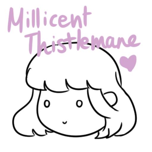 Millicent Thistlemane - D&D OC Doll