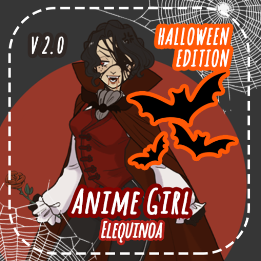 Anime Girl - HALLOWEEN EDITION
