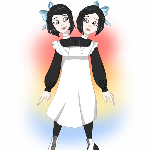 Conjoined twins dressup