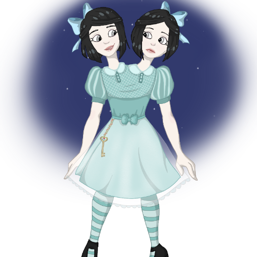 Conjoined twin dress up