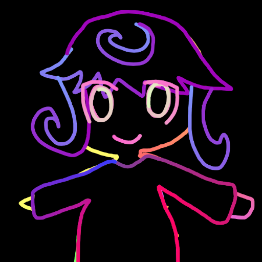 Rainbow outline dress up