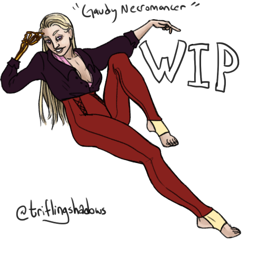 Gaudy Necromancer [WIP]