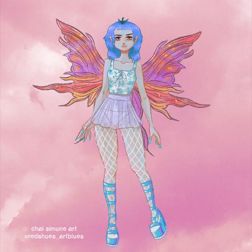 Sweet Heathen Fairy Doll
