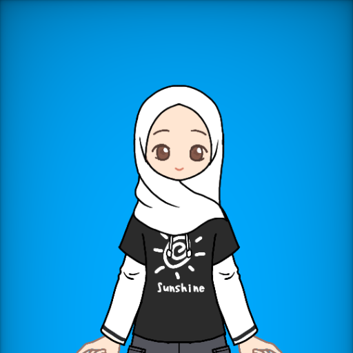 Hijabi Dress-Up - Life in Black and White