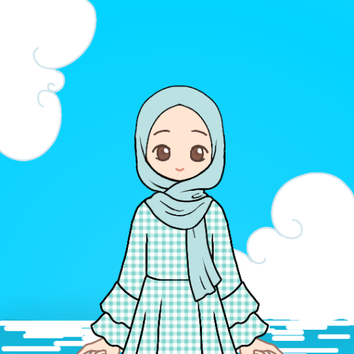 Hijabi Dress-Up - Sea Breeze