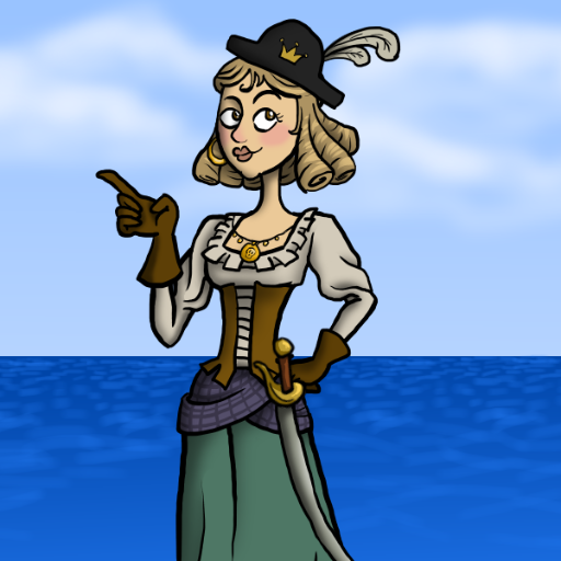 Cecilia the pirate princess