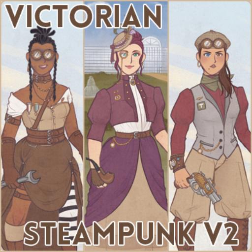 Victorian Steampunk Dressup