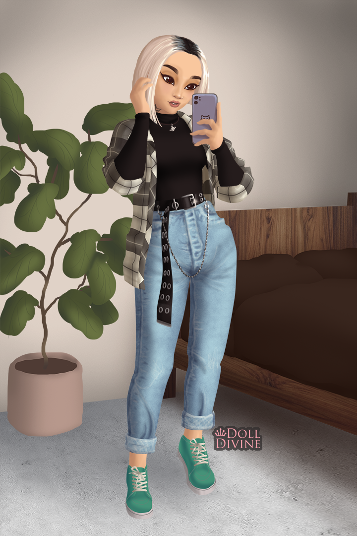 My sister in law lol made with E-Girl Meiker