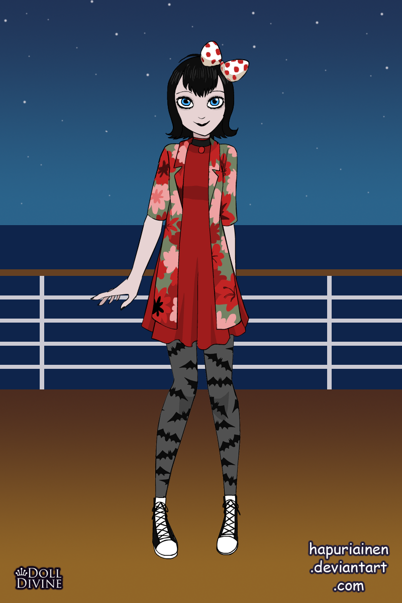 Mavis on Vacation made with Vampire Mavis Dress Up 2.0