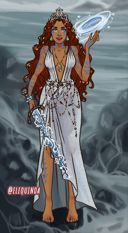 Queen of the Sea made with AATAVEITH CHARACTER CREATOR