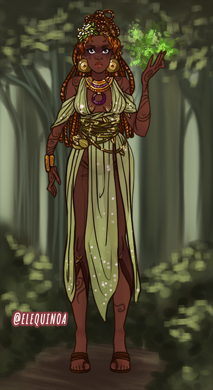 Mother Earth made with AATAVEITH CHARACTER CREATOR
