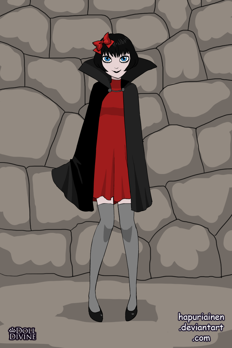 Vampire School made with Vampire Mavis Dress Up 2.0