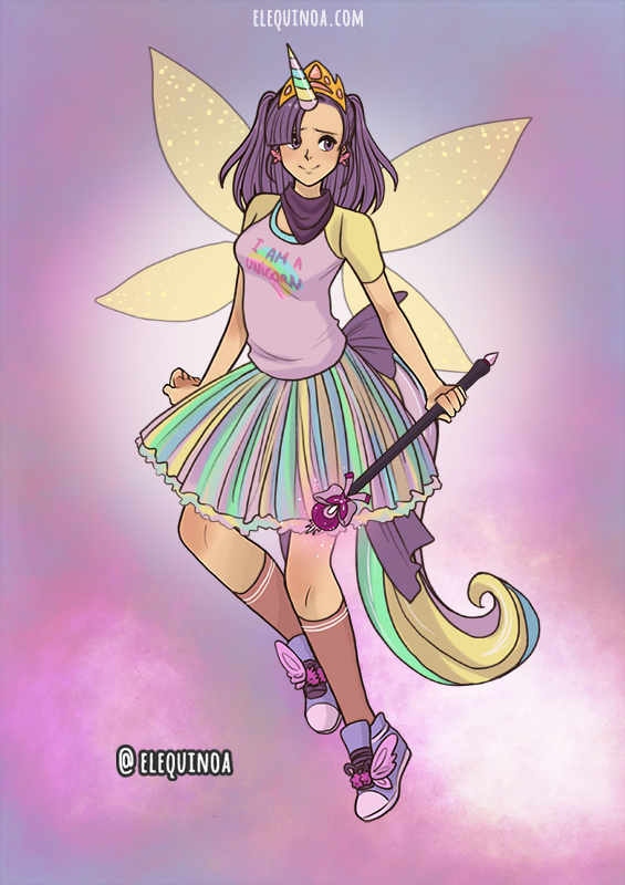 Halloween Mireille made with Anime Girl - HALLOWEEN EDITION