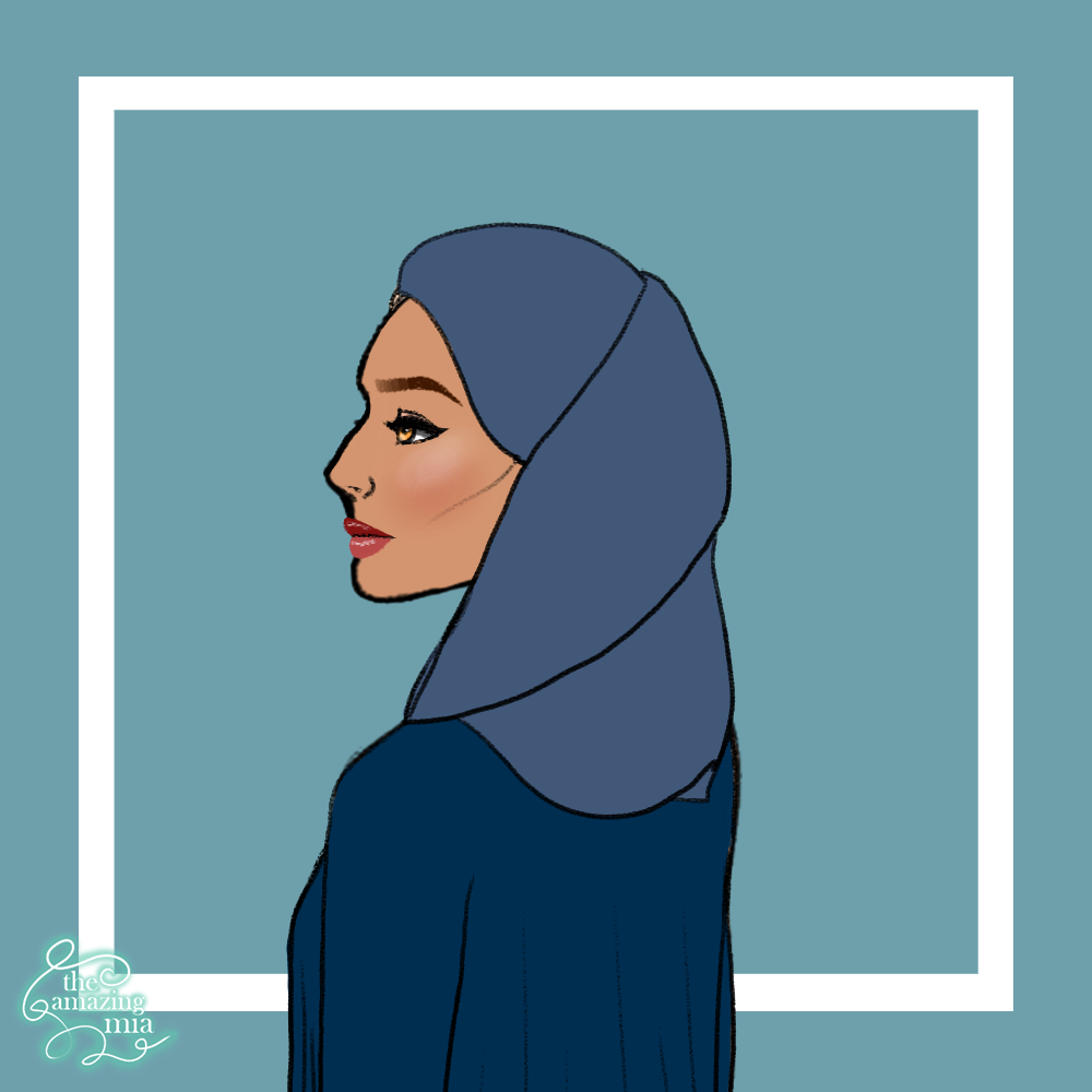 Woman in blue made with ♡ Perfect Portrait Creator ♡