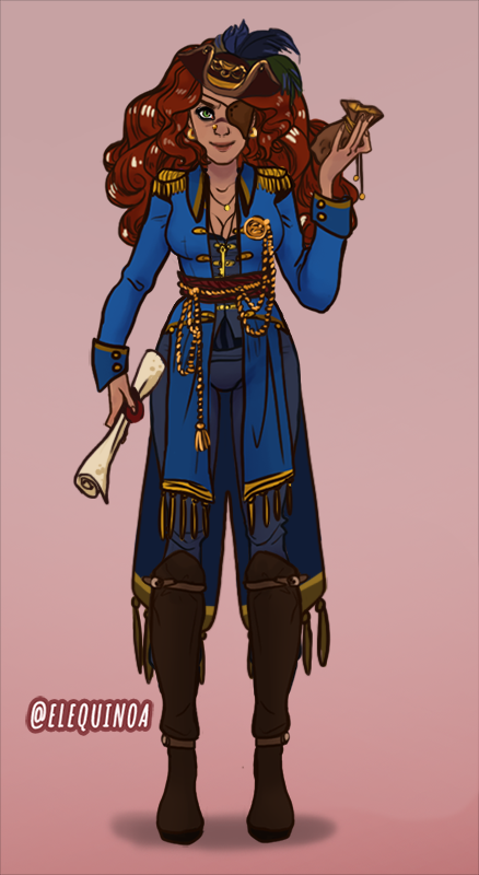pirate made with AATAVEITH CHARACTER CREATOR