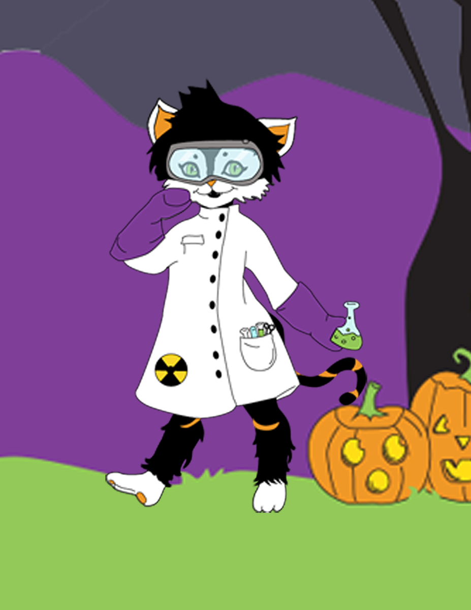 Cat Science made with Kinder Cat