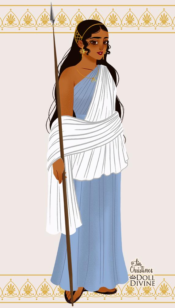AMIRA OC made with Ancient Greek Fashion