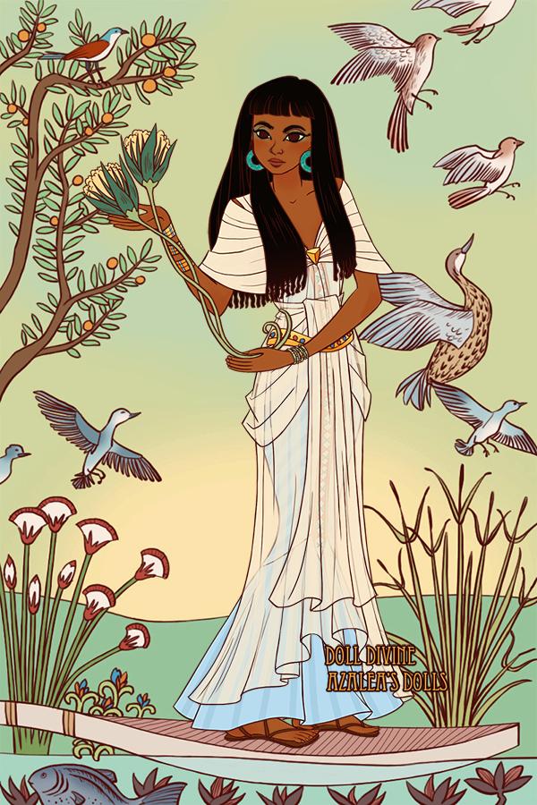 Amira uwu oc egypt made with Jewel of the Nile - Egyptian Regal Fashion