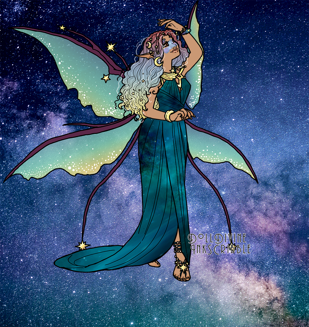 Space Amira made with Space Princess