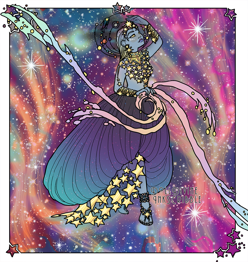Galatea made with Space Princess