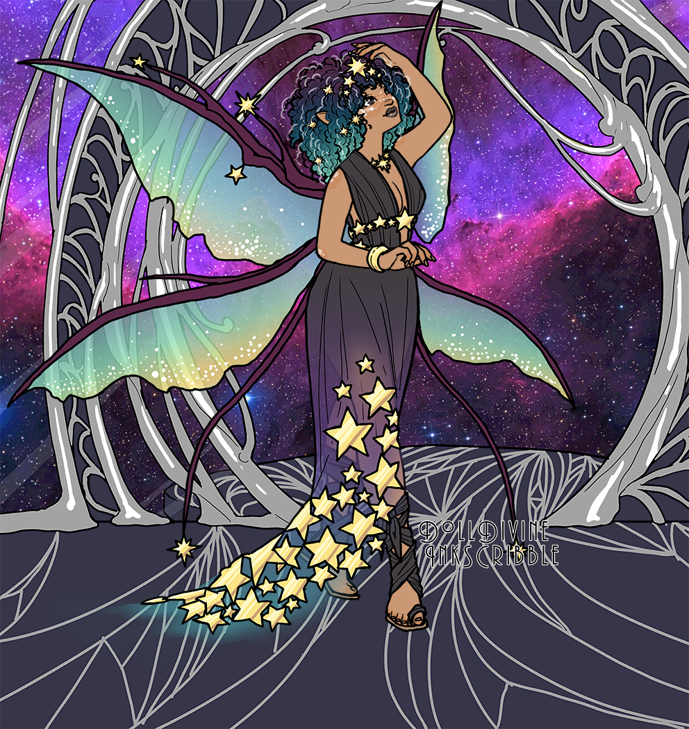 Star Nymph made with Space Princess