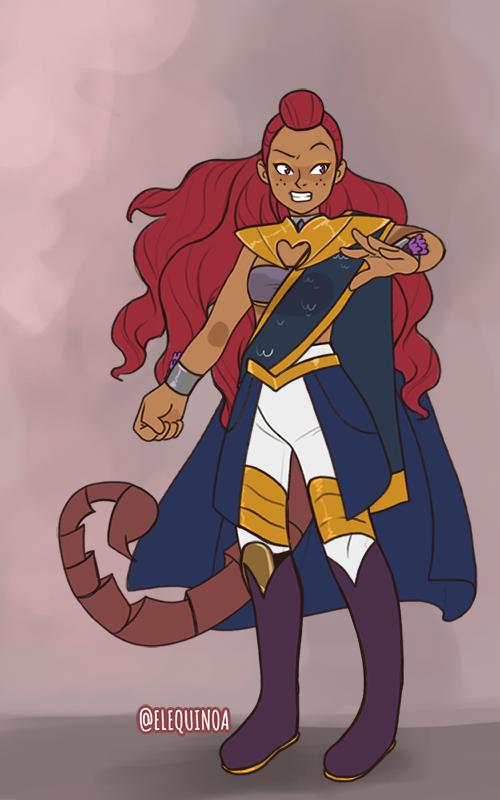Kayla made with Power Princess