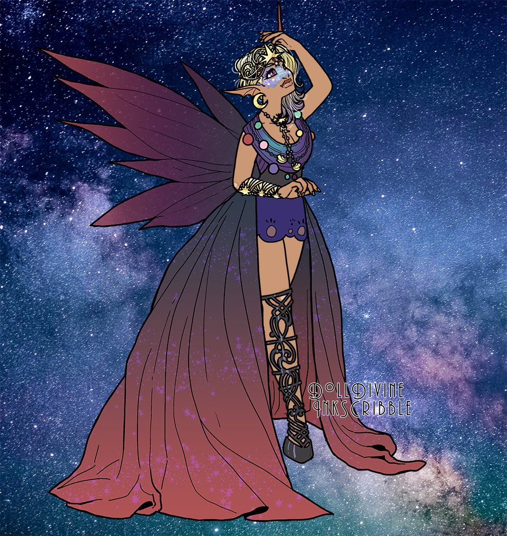 Queen Venus uwu made with Space Princess