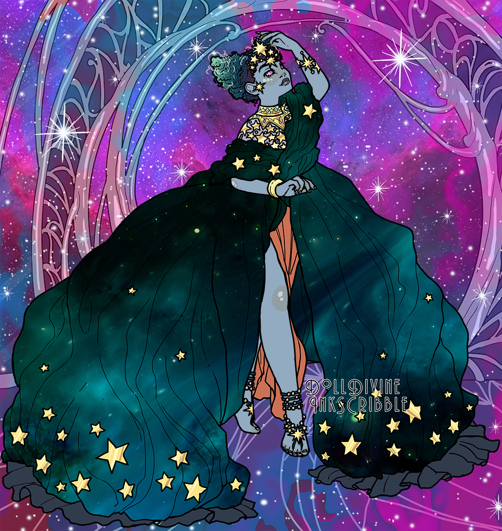 Dusk made with Space Princess