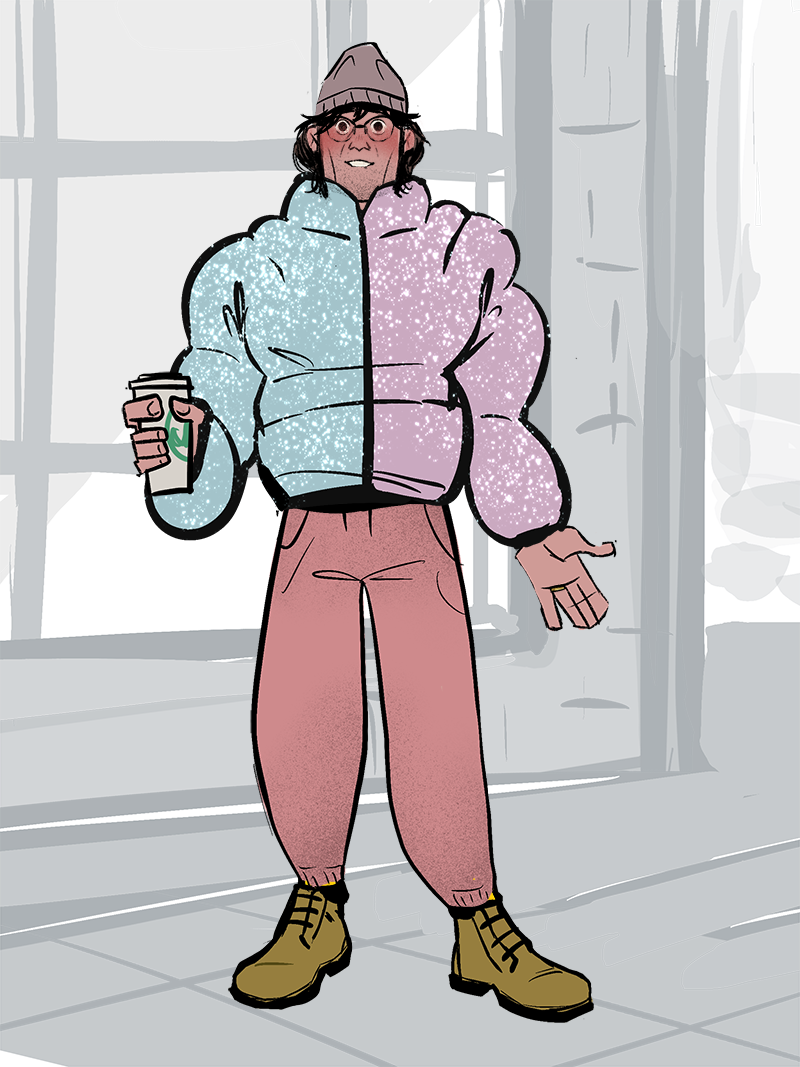 winter richie made with Tozier's Closet