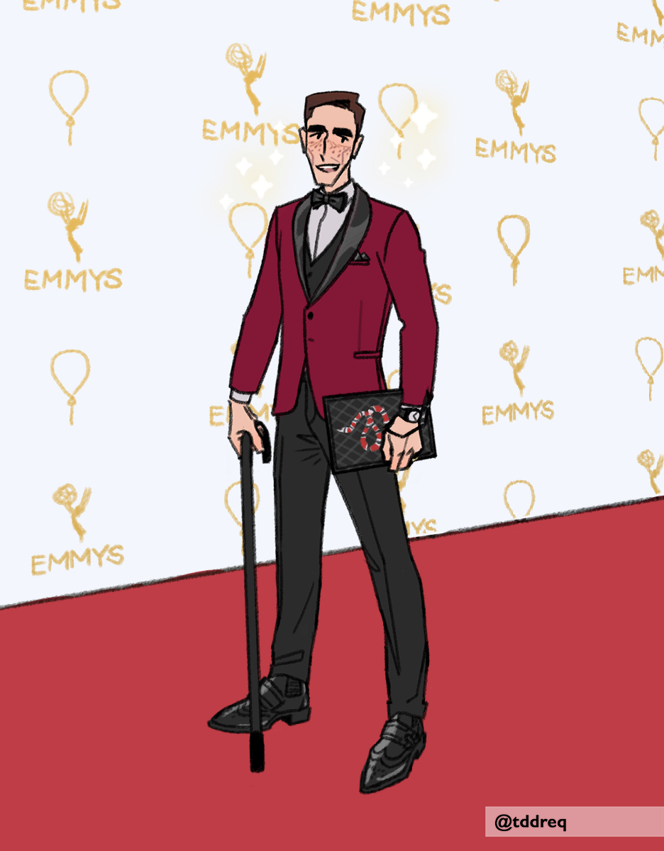 eddie at the emmys! made with Eddie's Wardrobe