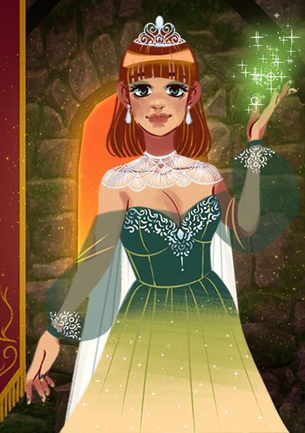 Leena made with Fantasy Princess Maker