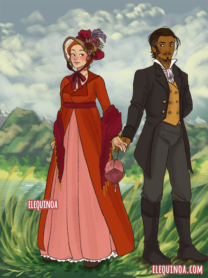 Ceci and Bali - Regency AU made with Empire Aesthetic