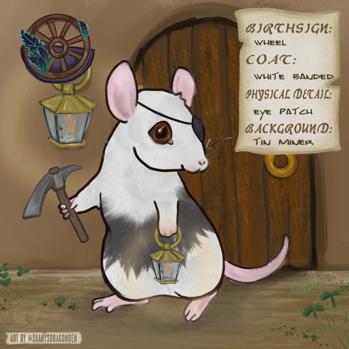 Going to play minecraft made with Mouse Adventurer