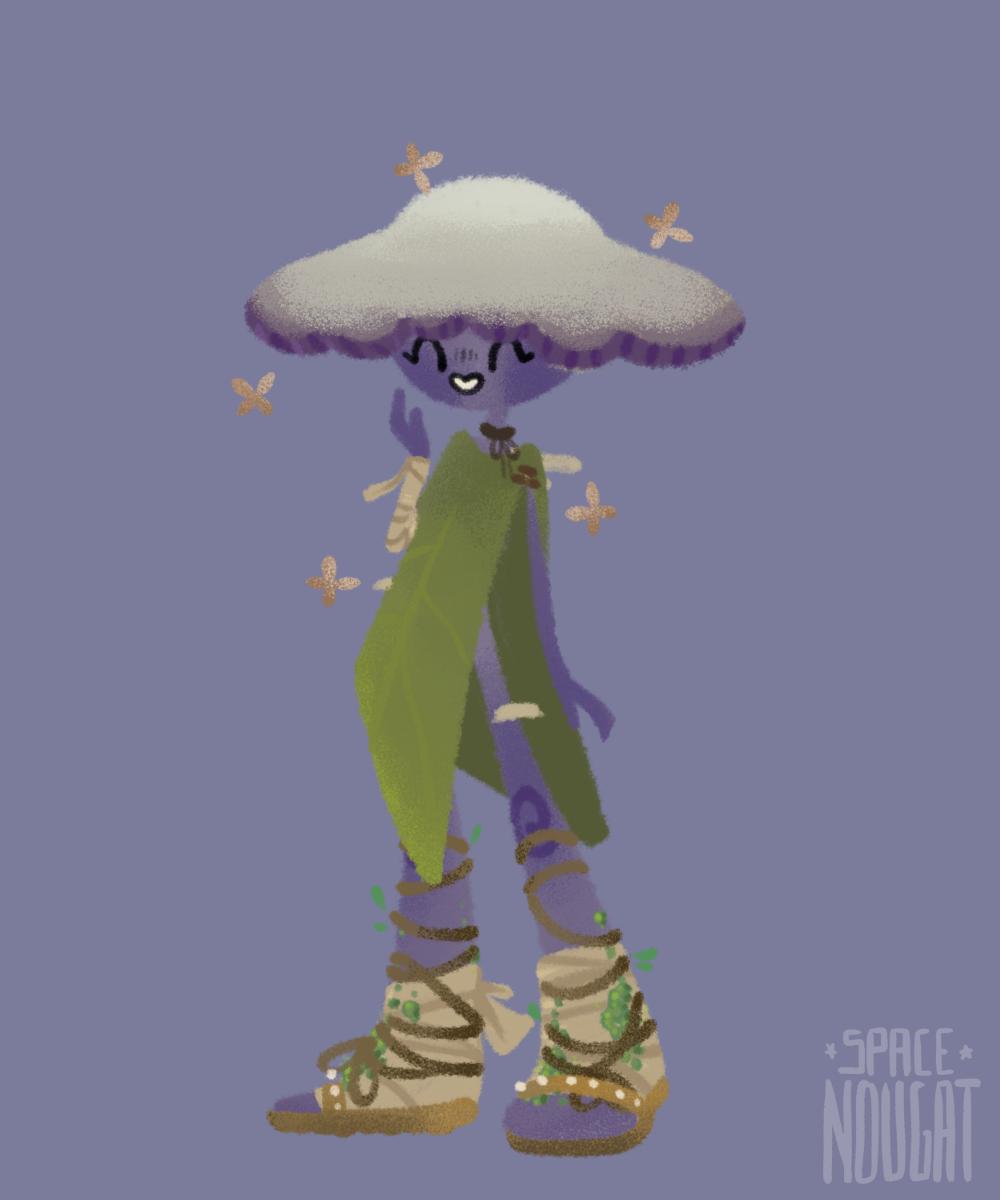 Cute Mushroom made with Mushroom Maker