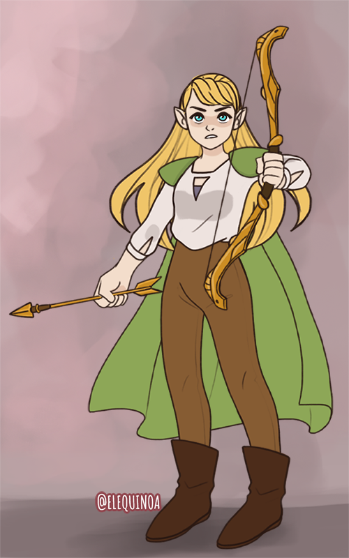 Elf made with Power Princess