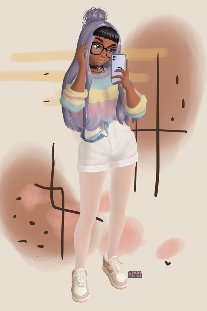 Art student lol made with Soft Girl Aesthetic