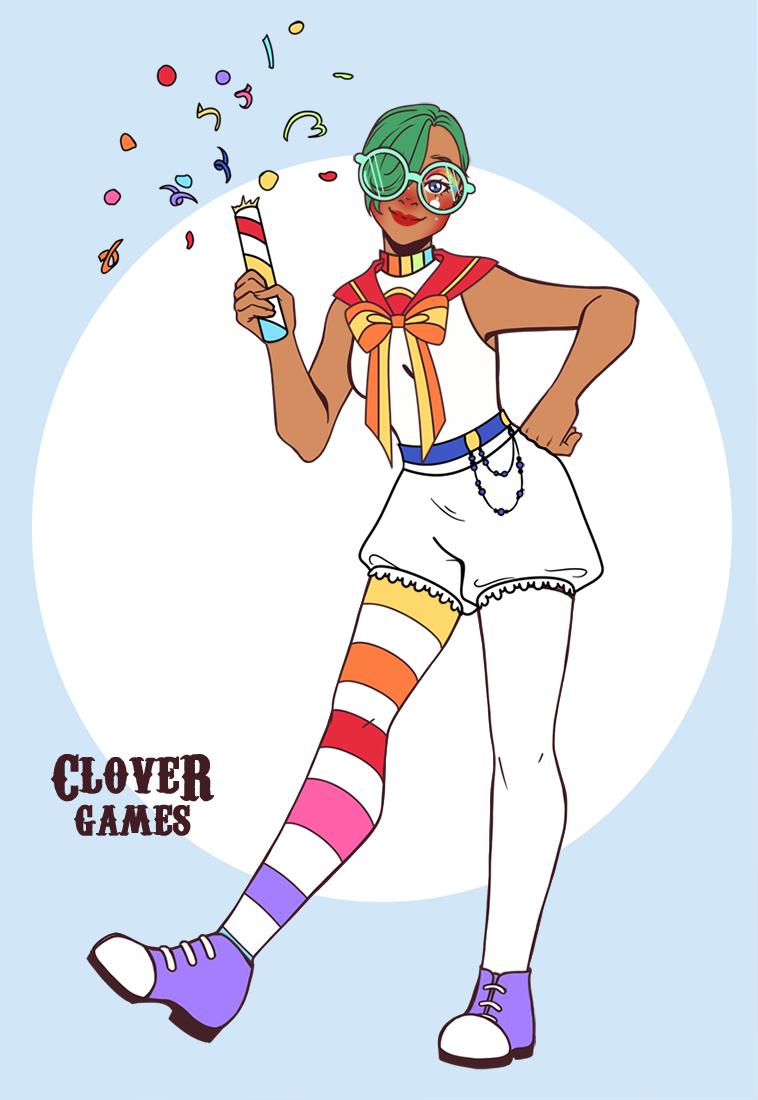Clown Patmos made with Quedé Clown Creator