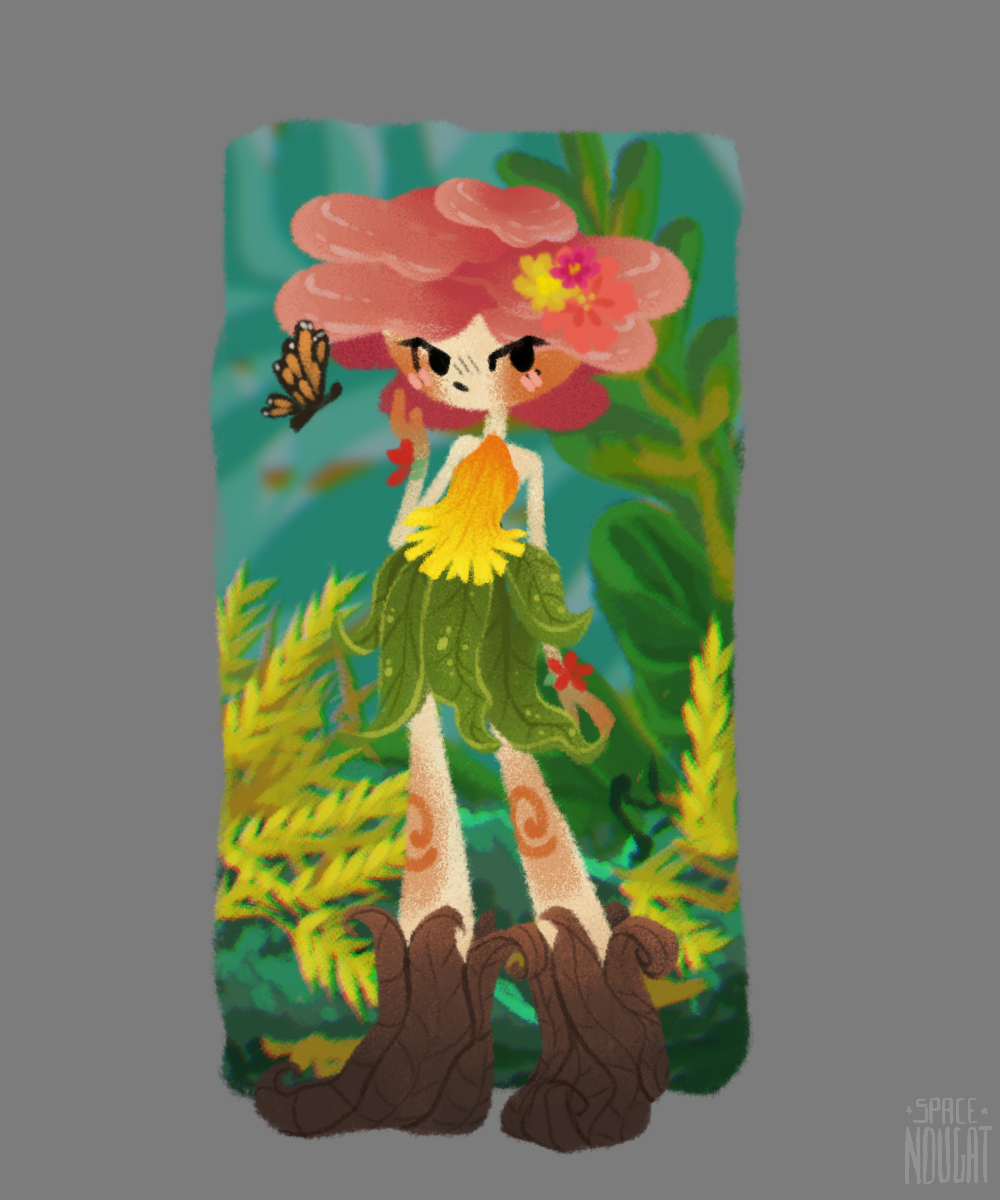 Mushroom Girl made with Mushroom Maker