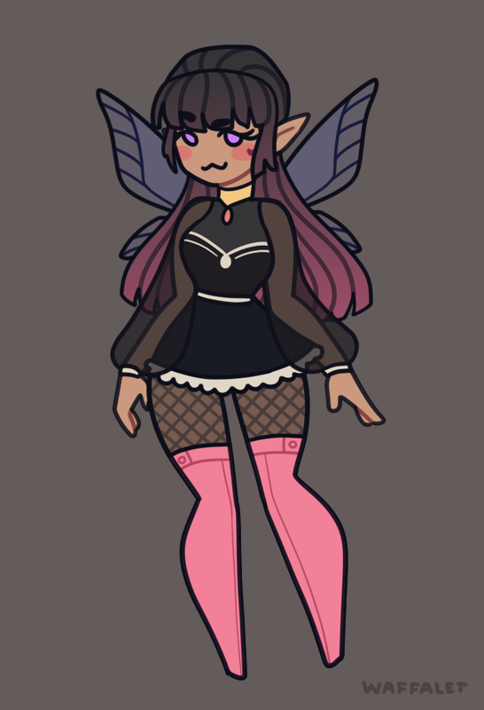 Ely made with Elf girl Maker