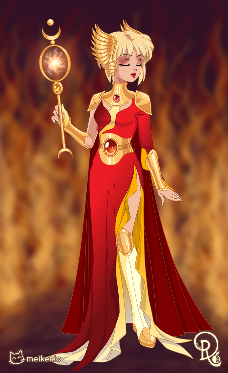Princess Kasai made with Keepers of the Elements