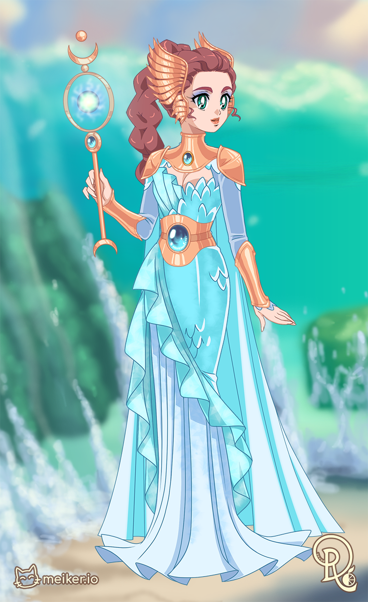 Princess Mizu made with Keepers of the Elements