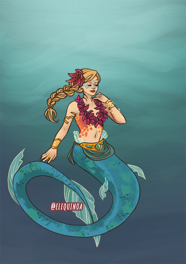 Tropical Waters made with Mermaid Maker