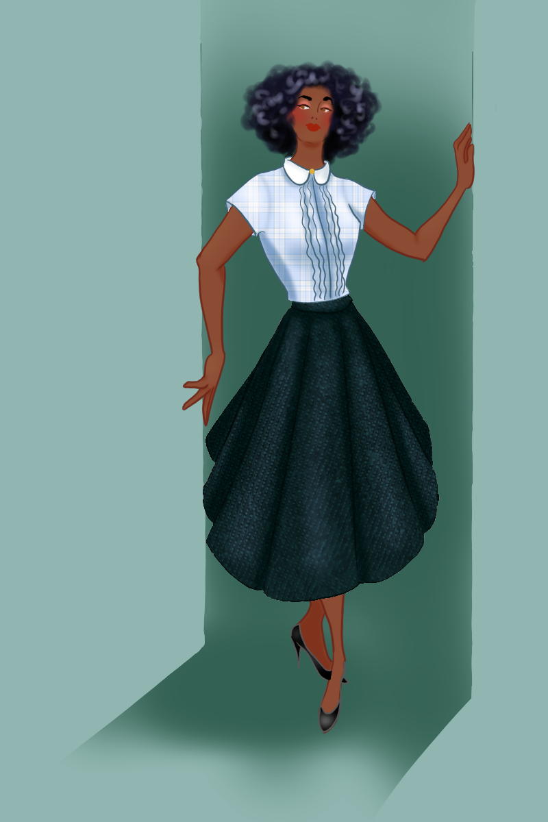 Unnamed made with Vintage Fashion: 1950's