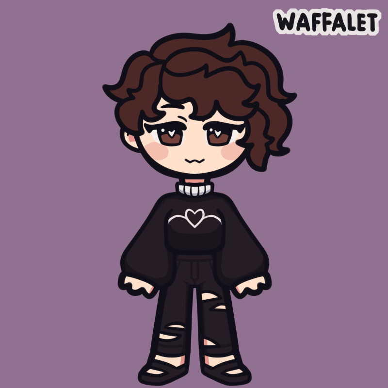 Me made with Chibi Avatar Maker