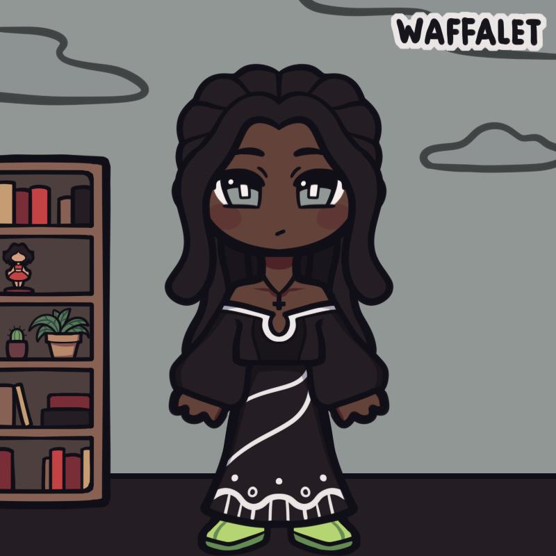 Ama made with Chibi Avatar Maker